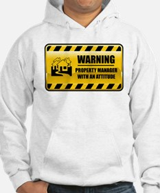 Warning Property Manager Hoodie