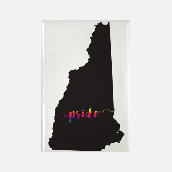New Hampshire Pride Rectangle Magnet
