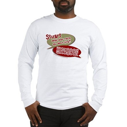 Stuart - What does mommy say. Long Sleeve T-Shirt