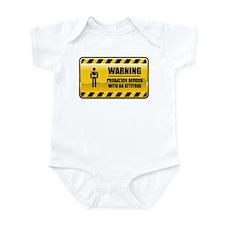 Warning Probation Officer Infant Bodysuit