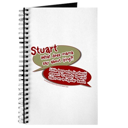 Stuart - What does mommy say. Journal