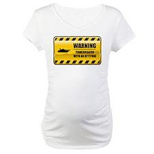 Warning Powerboater Shirt