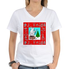 Polar Bear Decorating The Tre Shirt