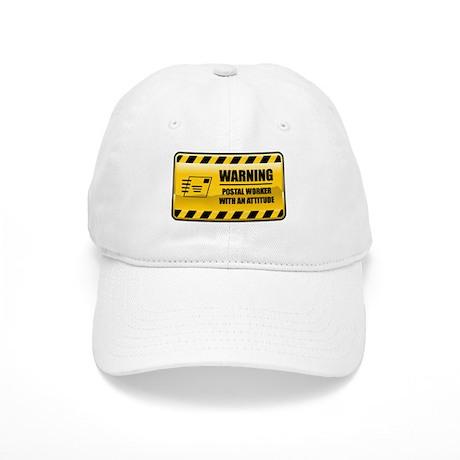 Warning Postal Worker Cap