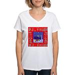 Carolers Women's V-Neck T-Shirt