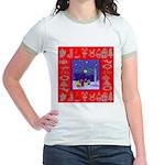 Carolers Jr. Ringer T-Shirt