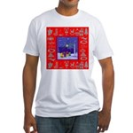 Carolers Fitted T-Shirt