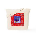 Carolers Tote Bag