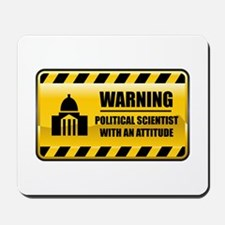 Warning Political Scientist Mousepad