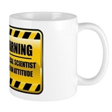 Warning Political Scientist Mug