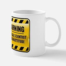 Warning Political Scientist Mug