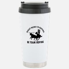 Right Now I'd Rather Be Stainless Steel Travel Mug