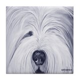 Old english sheepdogs Drink Coasters