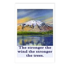 STRONGER THE TREES.. Postcards (Package of 8)