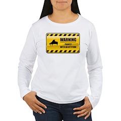 Warning Pianist T-Shirt