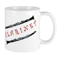 Clarinet Music Small Mug