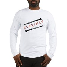 Clarinet Music Long Sleeve T-Shirt
