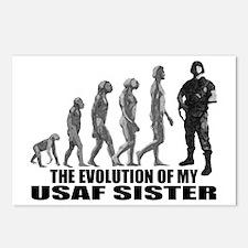 Evolution - My USAF Sis Postcards (Package of 8)