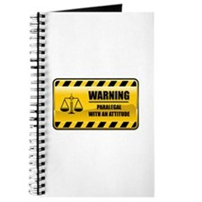 Warning Paralegal Journal
