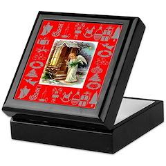 Christmas Angel Keepsake Box