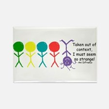 Out Of Context Rectangle Magnet (10 pack)