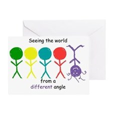 Seeing The World Greeting Card