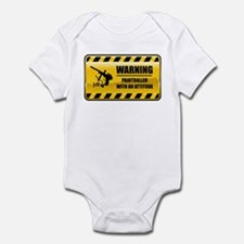 Warning Paintballer Infant Bodysuit