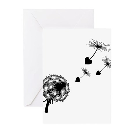 Dandelion Love Greeting Cards (Pk of 20)
