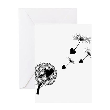 Dandelion Love Greeting Card