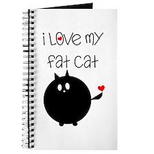 I Love My Fat Cat Journal