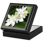 White Blossoms Keepsake Box