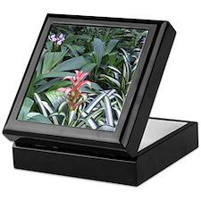 Tropical Garden Keepsake Box