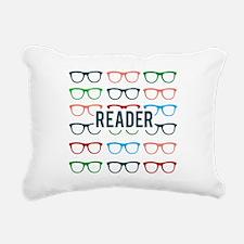 Reader Glasses Rectangular Canvas Pillow