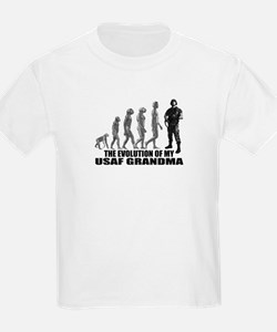 Evolution - My USAF Grndma  T-Shirt