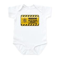 Warning Nuclear Medicine Specialist Infant Bodysui