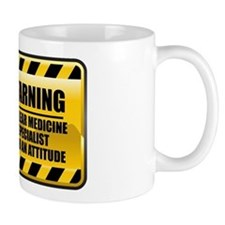 Warning Nuclear Medicine Specialist Mug