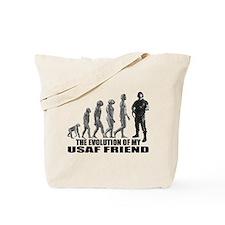 Evolution - My USAF Frnd Tote Bag