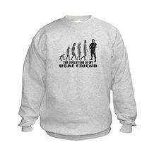 Evolution - My USAF Frnd Sweatshirt