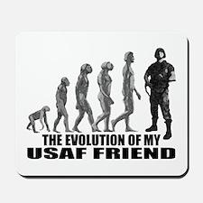 Evolution - My USAF Frnd Mousepad