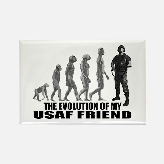 Evolution - My USAF Frnd Rectangle Magnet