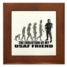 Evolution - My USAF Frnd Framed Tile
