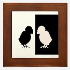Chicks Framed Tile