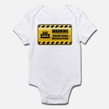 Warning Museum Person Infant Bodysuit