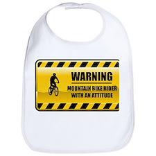 Warning Mountain Bike Rider Bib