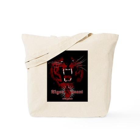 TigerHeart Tote Bag