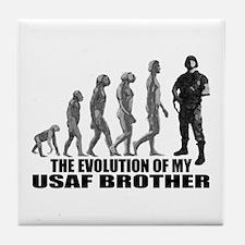 Evolution - My USAF Bro Tile Coaster