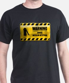 Warning Miner T-Shirt