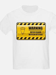 Warning Meter Reader T-Shirt