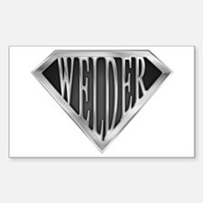 SuperWelder(metal) Rectangle Decal