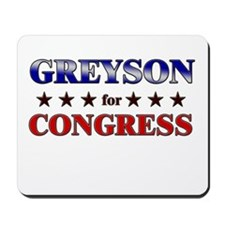 GREYSON for congress Mousepad
